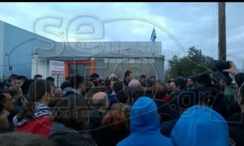 Διαβατά: Επέμβαση της αστυνομίας - Απώθησε κατοίκους που διαμαρτύρονται για το κέντρο προσφύγων
