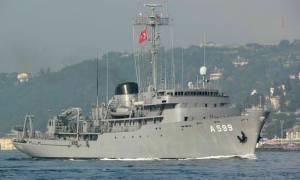 Η Τουρκία βγάζει το Τσεσμέ για «βόλτες» στο Αιγαίο
