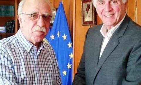 Συνάντηση του Δημάρχου Περιστερίου με τον Αναπληρωτή Υπουργό Εθνικής Άμυνας