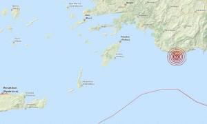Σεισμός 3,5 Ρίχτερ κοντά στο Καστελλόριζο (pic)