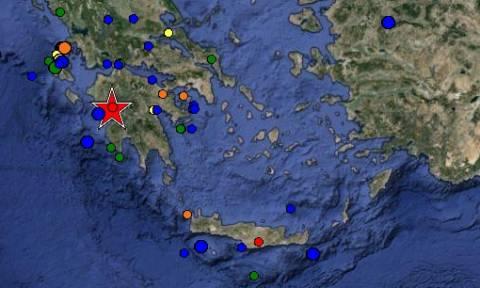 Ισχυρός σεισμός 5,2 Ρίχτερ στην Πελοπόννησο