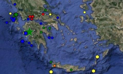Σεισμός 3,7 Ρίχτερ ταρακούνησε Αχαΐα και Αιτωλοακαρνανία