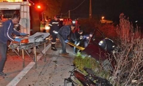 Ασύλληπτη τραγωδία στην Ερμιόνη - Σκοτώθηκαν σε τροχαίο δύο αδέρφια και ο κολλητός τους (video)