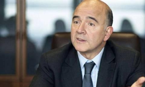 Μοσκοβισί: Θέλουμε να κλείσει η αξιολόγηση πριν το Πάσχα