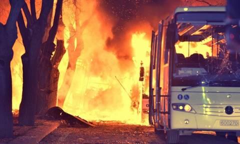 Νέο μακελειό από έκρηξη παγιδευμένου οχήματος στην Άγκυρα (pics+vid)