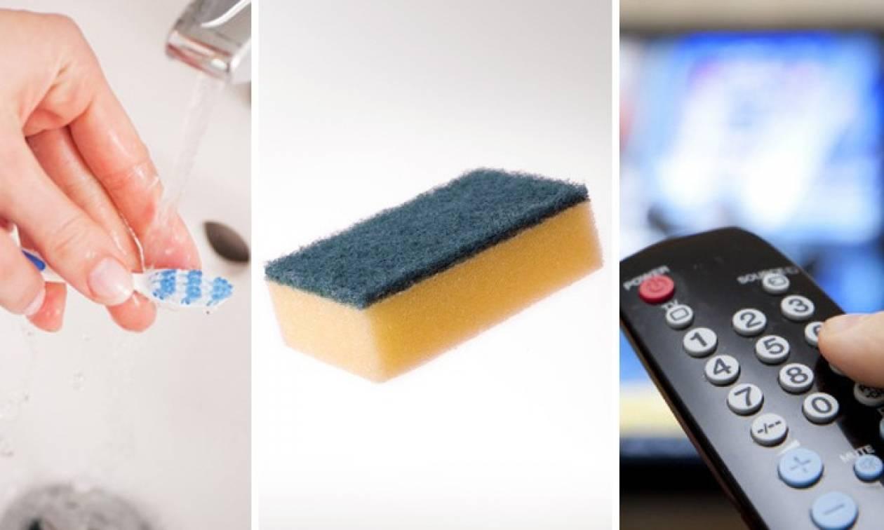Δέκα πράγματα που είναι πιο βρώμικα από την τουαλέτα σας
