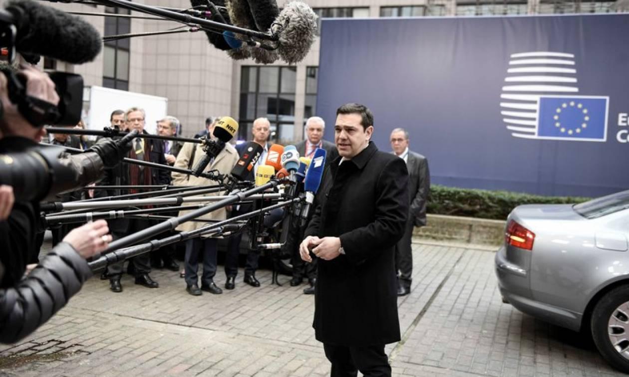 Σύνοδος Κορυφής – Τσίπρας: Το μέλλον της Ευρώπης δεν είναι τα τείχη