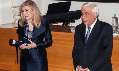 Το Ίδρυμα Ιατροβιολογικών Ερευνών τιμά τη Μαριάννα Βαρδινογιάννη