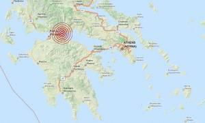 Σεισμός 3,6 Ρίχτερ μεταξύ Αιγίου και Ναυπάκτου
