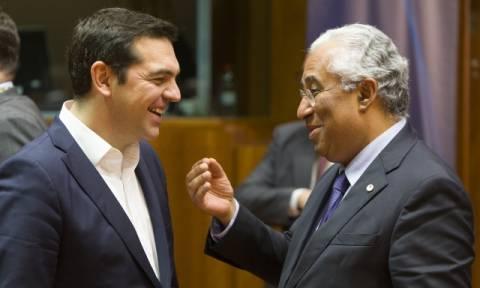 Επιστολή αλληλεγγύης του πρωθυπουργού της Πορτογαλίας στον Αλέξη Τσίπρα για το προσφυγικό