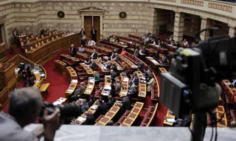Στη Βουλή σήμερα και αύριο το «Παράλληλο Πρόγραμμα»