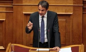 Εθνική γραμμή για το προσφυγικό πρότεινε ο Κυριάκος Μητσοτάκης