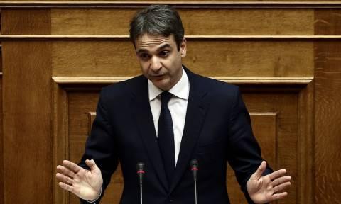 Δευτερολογία Μητσοτάκη: Η Ελλάδα δίνει εικόνα κατεστραμμένης χώρας
