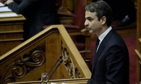 Μητσοτάκης: Μία οικουμενική κυβέρνηση δεν είναι λύση στα προβλήματα της χώρας