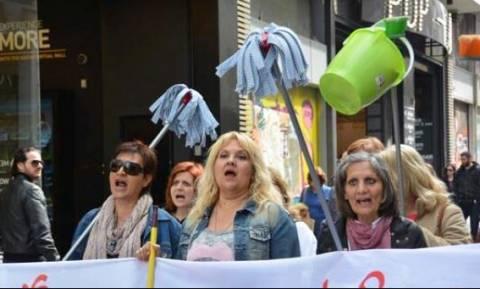 Απλήρωτες επί επτά μήνες οι καθαρίστριες στο υπουργείο Εργασίας