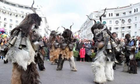 Εντυπωσιακή παρέλαση κωδωνοφόρων ξεσήκωσαν την Θεσσαλονίκη! (vid)