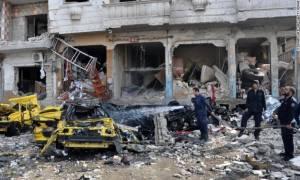 Στους 57 οι νεκροί των βομβιστικών επιθέσεων στη Χομς -  Το ISIS ανέλαβε την ευθύνη (vid)
