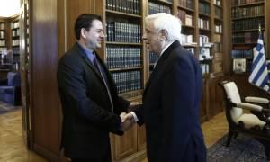 Την Πανελλήνια Ένωση Νέων Αγροτών δέχθηκε ο Προκόπης Παυλόπουλος