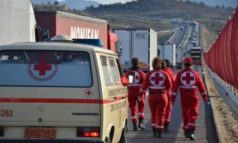 Ελληνικός Ερυθρός Σταυρός: Ανθρωπιστική βοήθεια στο τελωνείο του Προμαχώνα