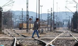 Επιχείρηση στην Ειδομένη για άνοιγμα της σιδηροδρομικής γραμμής