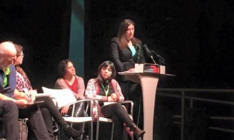 Κωνσταντοπούλου: Τον περασμένο Ιούλιο ο λαός προδόθηκε από την ηγεσία του