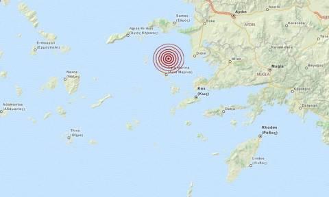 Σεισμός 3,5 Ρίχτερ ανατολικά των Λειψών (pic)