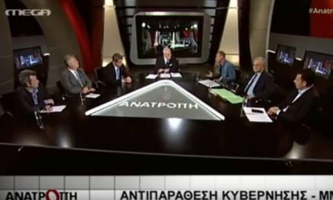 Κλέων Γρηγοριάδης: Ξανα-ξεφτίλισε MEGA και Μπόμπολα - Κατάπιε τη γλώσσα του ο Πρετεντέρης (vid)
