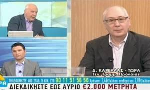 Καρελλάς: Κόβεται 1 δισ. ευρώ από τα προνοιακά επιδόματα
