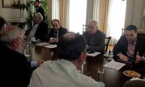Τσίπρας προς αγρότες: Ξέρω ότι έχουμε διαφωνίες, αλλά εκφράζετε με έντιμο τρόπο τις ανησυχίες σας
