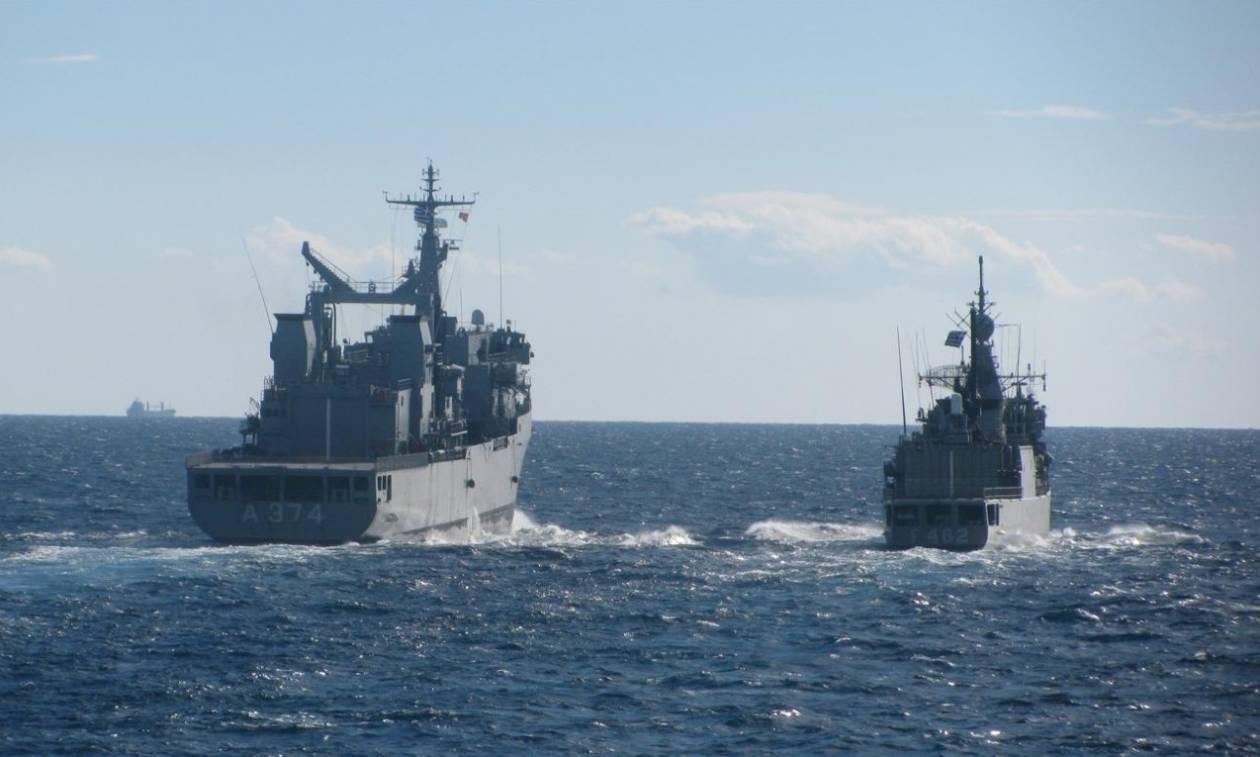 Το Πολεμικό Ναυτικό συμμετέχει στην διαχείριση των προσφυγικών ροών