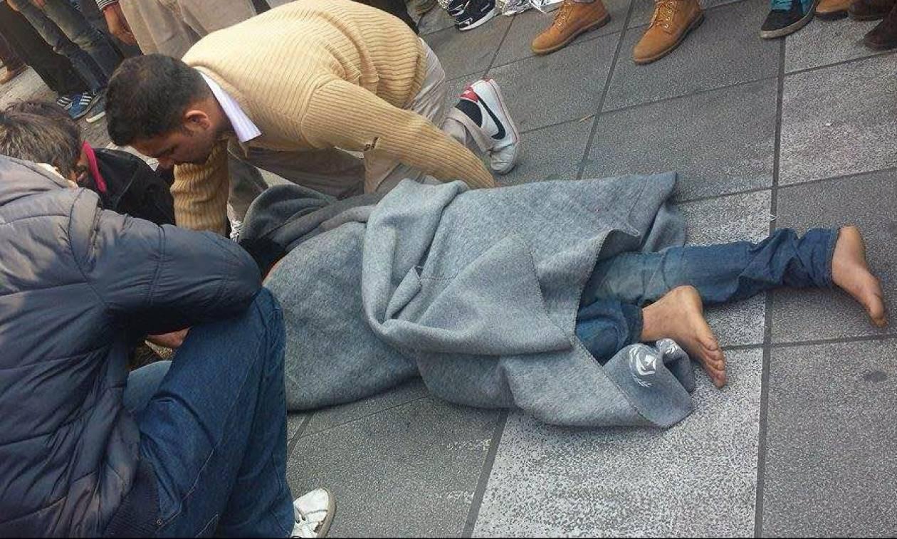 Δύο μετανάστες έκαναν απόπειρα αυτοκτονίας στην πλατεία Βικτωρίας