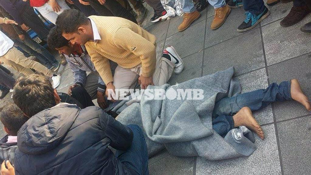 Δύο μετανάστες φέρεται να έκαναν απόπειρα αυτοκτονίας στην πλατεία Βικτωρίας