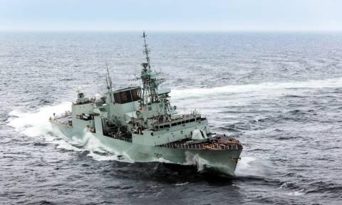 Ξεκίνησε η ΝΑΤΟϊκή αποστολή στο Αιγαίο (vid)