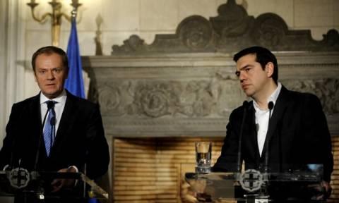 Προσφυγικό - Νέο «ραντεβού» Τουσκ - Τσίπρα στην Αθήνα την Πέμπτη 3 Μαρτίου