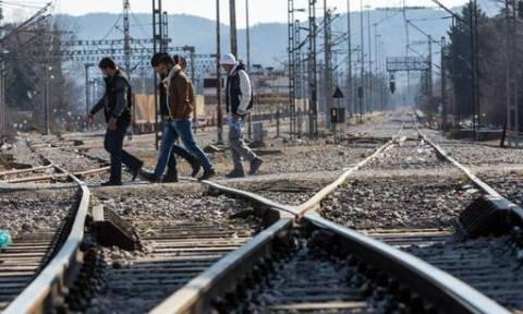 Προσφυγικό: Άνοιξε η σιδηροδρομική γραμμή στην Ειδομένη