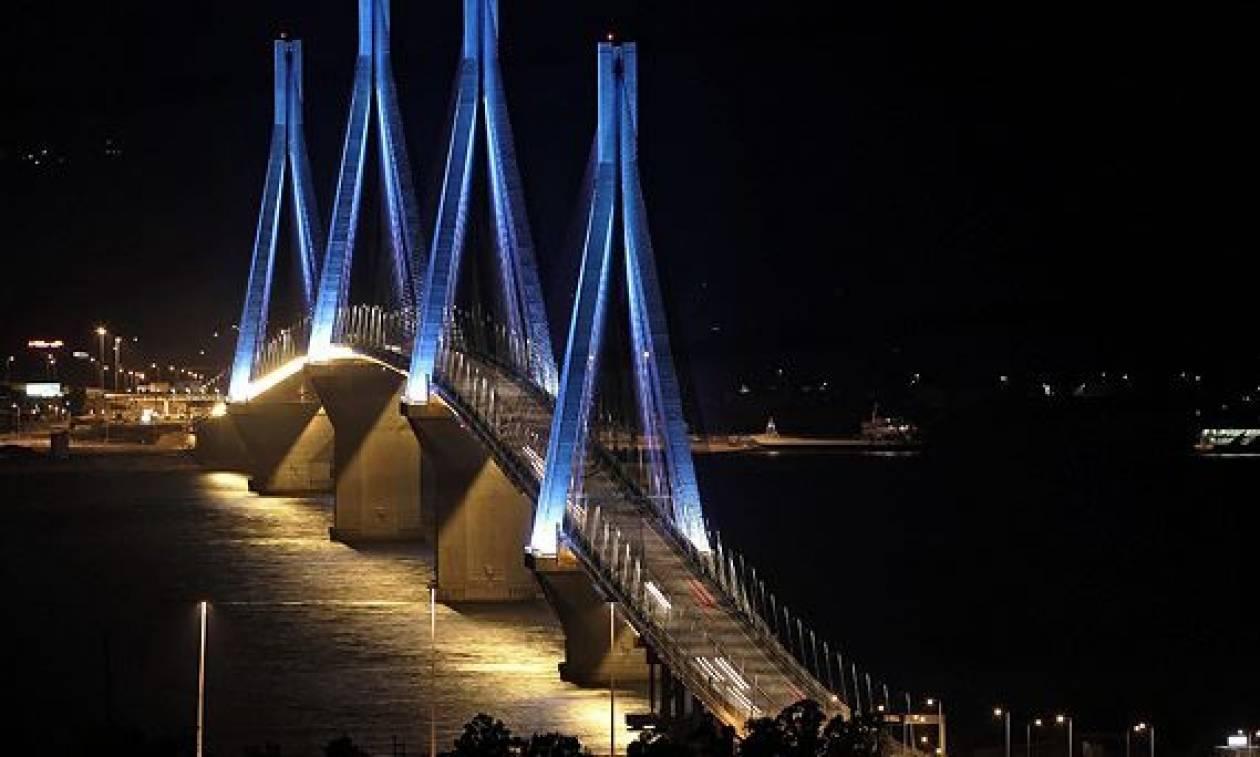 Προβλήματα στο πορθμείο και στη γέφυρα Ρίου - Αντιρρίου από τους ισχυρούς ανέμους