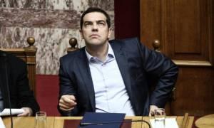 Σύσκεψη - Προσφυγικό: Τι συζήτησε ο Τσίπρας με τους συνεργάτες του στη Βουλή