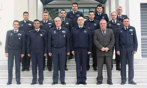 Επίσκεψη Τουρκικής στρατιωτικής αντιπροσωπείας στο ΓΕΑ και στη Σχολή Ικάρων (pics)