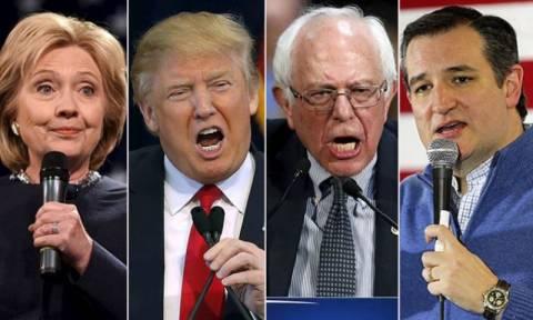 Προκριματικές εκλογές ΗΠΑ: Όλα όσα θέλατε να μάθετε για την «Σούπερ Τρίτη» της 1η Μαρτίου (vids)