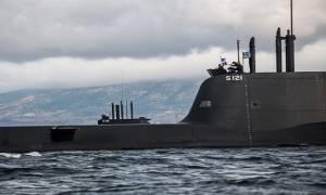 Συμμετοχή υποβρυχίου του ΠΝ στη διασυμμαχική άσκηση Dynamic Manta 2016