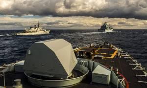 Άρχισαν τα όργανα: Το Αιγαίο γέμισε με πλοία του ΝΑΤΟ