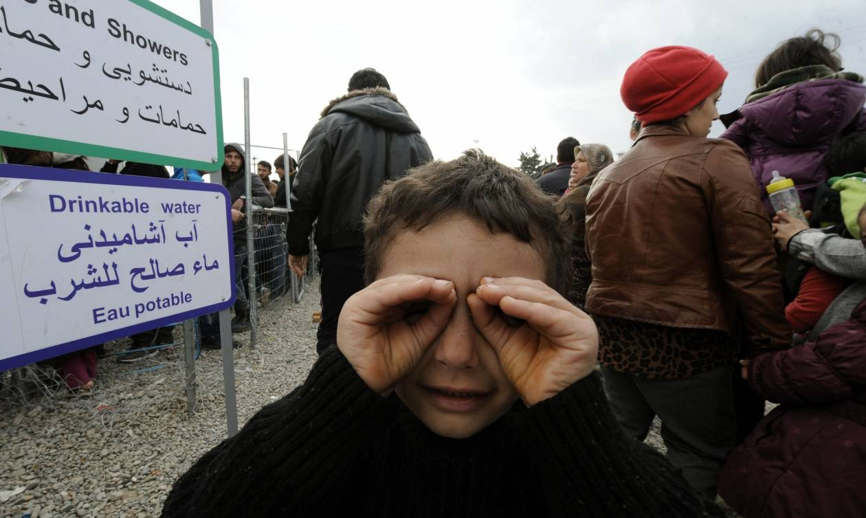 Ειδομένη: Ηρεμία στον καταυλισμό προσφύγων παρά τα κλειστά σύνορα