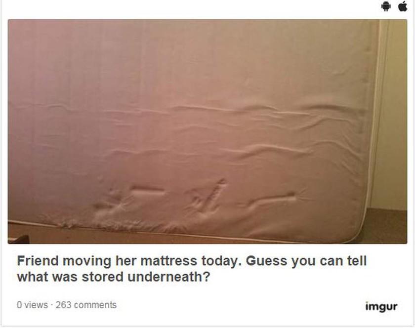 Δείτε πώς ένα στρώμα αφρού αποκάλυψε τα πιο ένοχα σεξουαλικά μυστικά της! (photo)