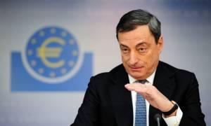Ντράγκι: Η ΕΚΤ δεν μπορεί να αποφασίσει για την ελάφρυνση του ελληνικού χρέους