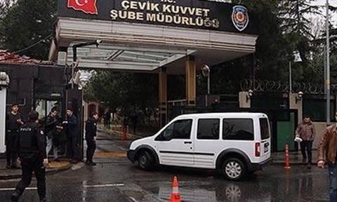 Η στιγμή της επίθεσης στο αστυνομικό τμήμα στην Τουρκία (video)