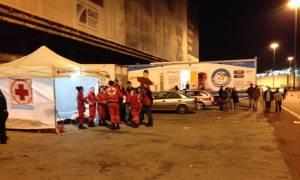 Προσφυγικό: Κινητή Υγειονομική Μονάδα του Ελληνικού Ερυθρού Σταυρού στον Πειραιά