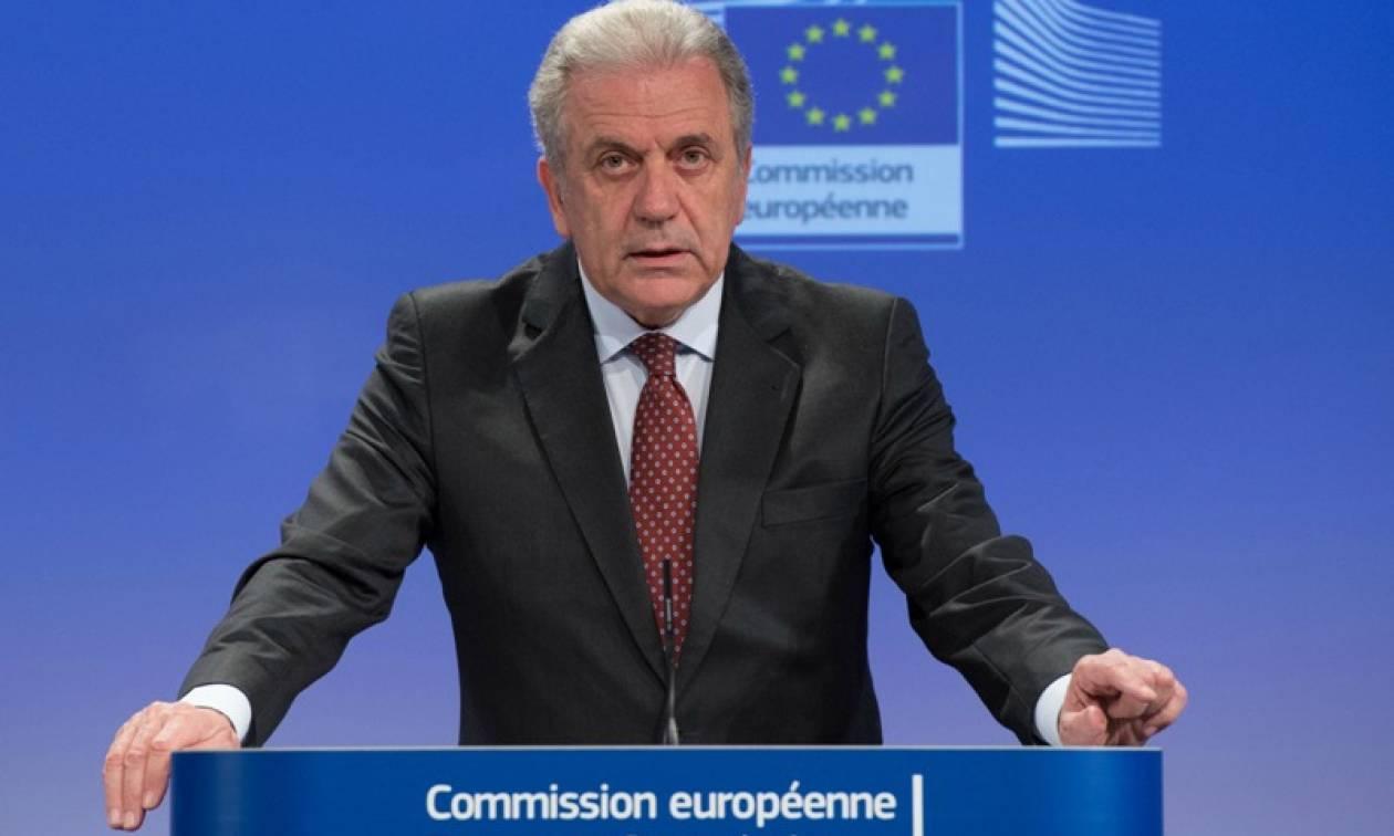 «Οδικό χάρτη» για την αποκατάσταση της Σένγκεν θα παρουσιάσει ο Αβραμόπουλος