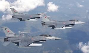 Προκαλούν οι Τούρκοι - Δεκάδες παραβιάσεις πάνω από το Αιγαίο