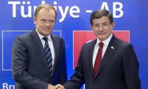 «Χέρι» Τουσκ σε Άγκυρα: Απαιτούνται και άλλα μέτρα για τη μείωση των μεταναστευτικών ροών