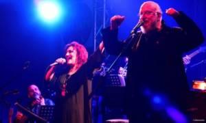 Ο Διονύσης Σαββόπουλος και η Ελένη Βιτάλη στο Μέγαρο Μουσικής Θεσσαλονίκης